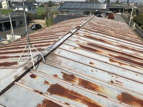 邑楽町 屋根
