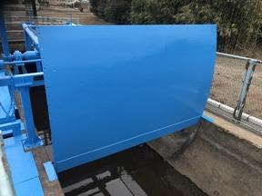水門塗装工事